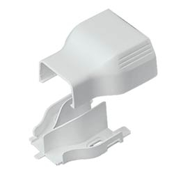 T-45 Red ucer Fitting for T-45 to LD10 Raceway, Electric Ivory
