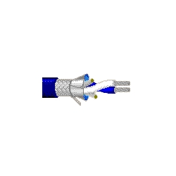 Twinax - Blue Hose Cable 78 OHM Twinax Blue, Strong