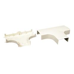 Nonmetallic tee fitting pn10 Ivory