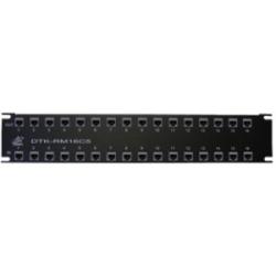 12 Port, 2U, Rack Mount Surge Protection - Gigabit Ethernet Data Rate